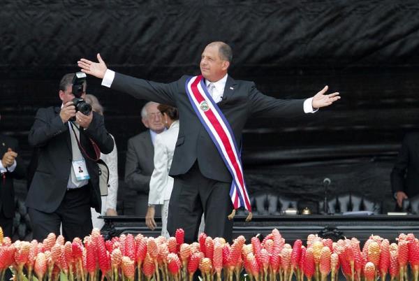 Luis Guillermo Solís, presidente de Costa Rica. Foto de Archivo, La República.