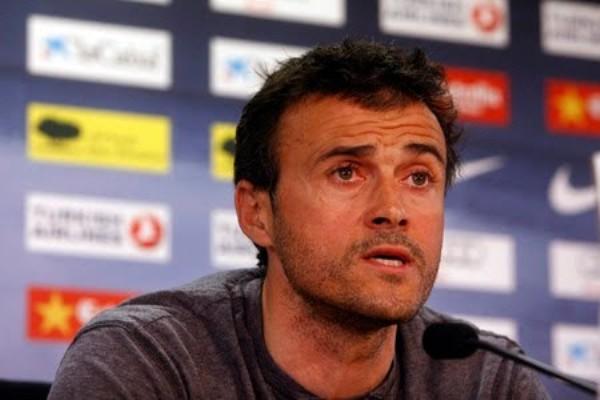 Foto de archivo. Luis Enrique, director técnico del FC Barcelona. Foto EFE.