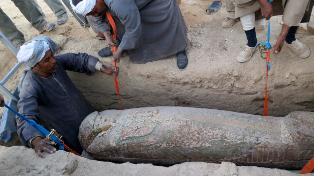 Momia egipcia. Foto de Archivo, La República.