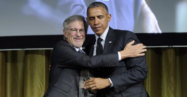Barack Obama, Steven Speilberg