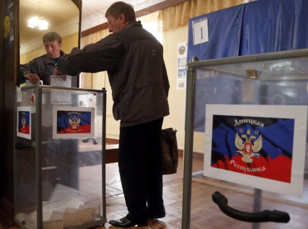 Donetsk People's Republic referendum in Ukraine