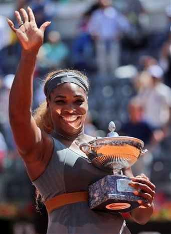 Serena Williams. (AP Foto/Gregorio Borgia)