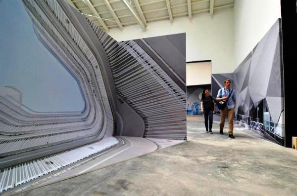 Bienal Arq pabellon