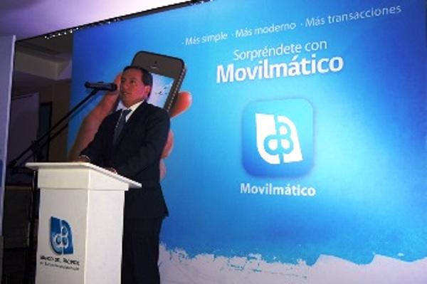 Ing. Efraín Vieira, Presidente Ejecutivo del Banco del Pacífico