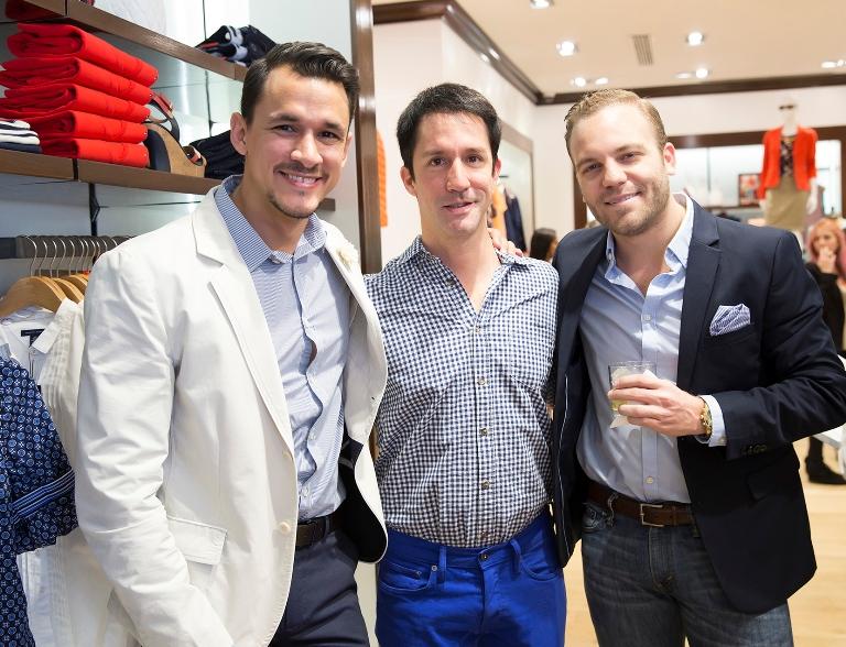 Joshua Degel, Otto Paredes y Juan José Reyes