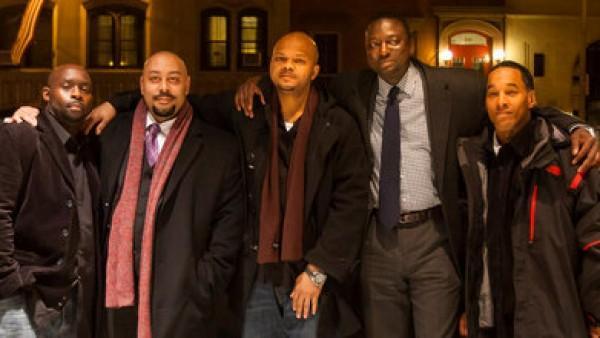 Yusef Salaam, Raymond Santana, Anton McCrae, Kharey Wise y Kevin Richardson.