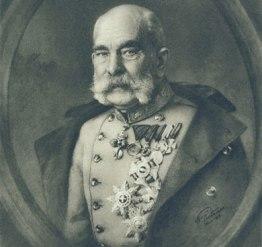 Emperador Francisco José de Austria.