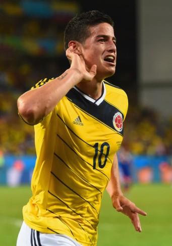 James Rodríguez, Colombia.
