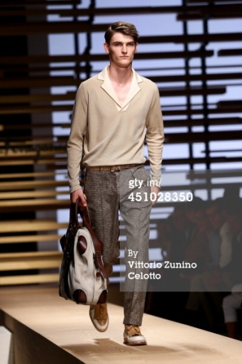 Semana de la moda masculina en Milán. Ferragamo.