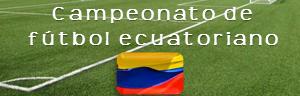 Campeonato futbol ecuador