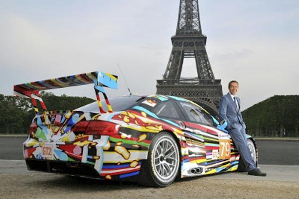 El decimoséptimo BMW Art Car, fue personalizado por Jeff Koons en el Centre Pompidou de París, uniéndose así a las otras creaciones pasadas de Roy Lichtenstein, Andy Warhol, entre otros.