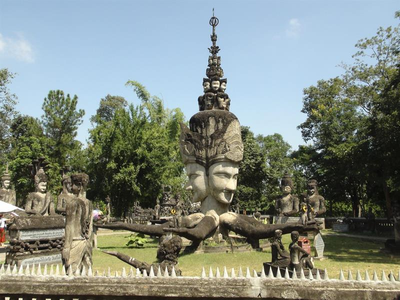 Tailandia parque Sala Keoku