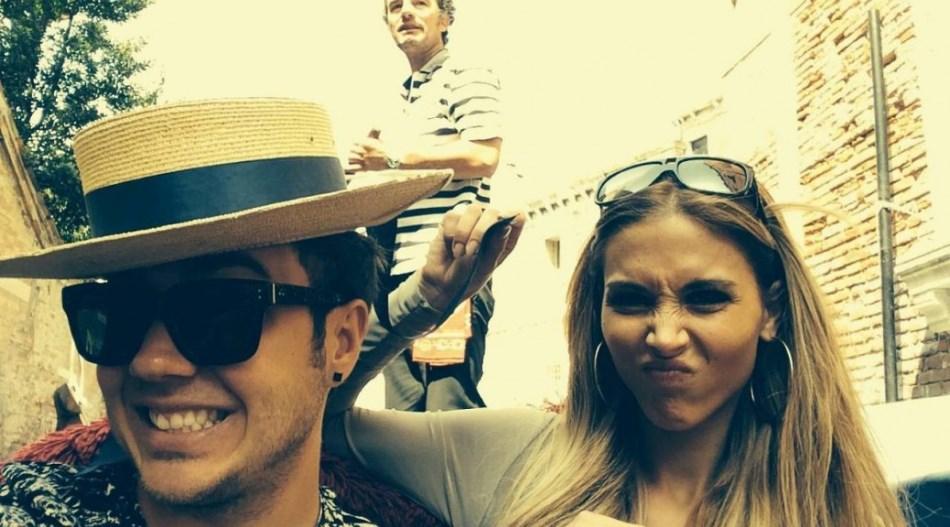 Ann y Mario, en Venecia.