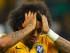 Foto de archivo. Marcelo vistiendo la camiseta de la selección de Brasil. Foto AP.