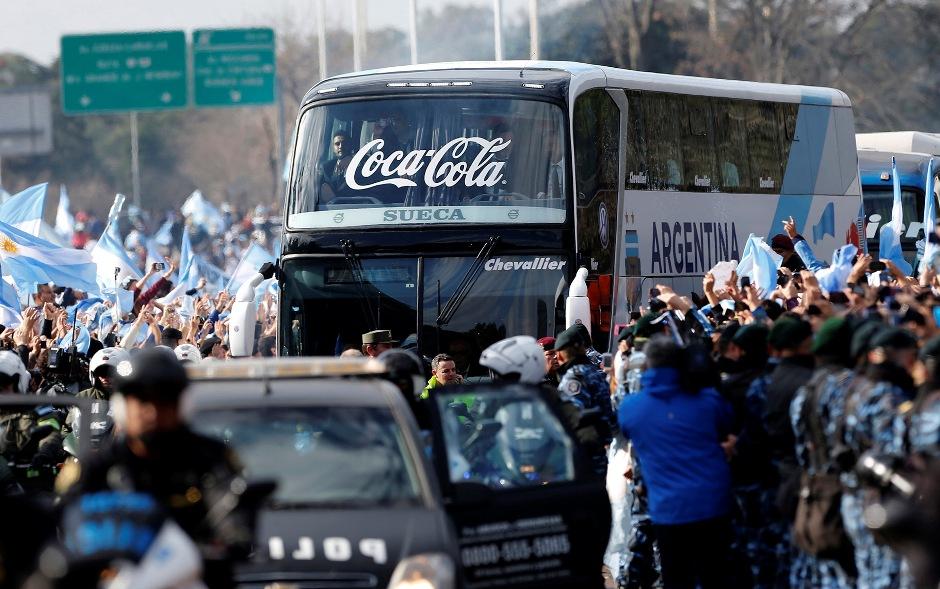 Recibimiento Argentina