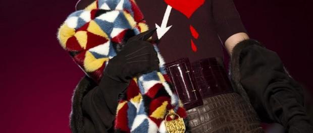 Una modelo presenta una creación del diseñador italiano Marco Zanini para la colección de la firma Schiaparelli. EFE/Etienne Laurent