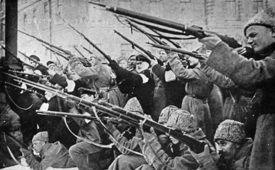 Tropas rusas de la I Guerra Mundial.