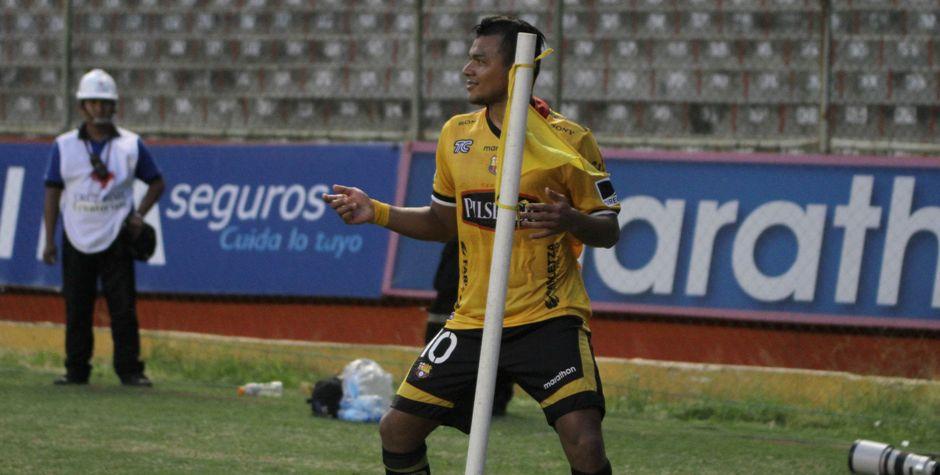 Guayaquil, domingo17 de agosto del 2014 Barcelona se enfrenta a Liga de Loja por la tercera fecha de la segunda etapa del campeonato nacional de futbol Foto:API/Duham
