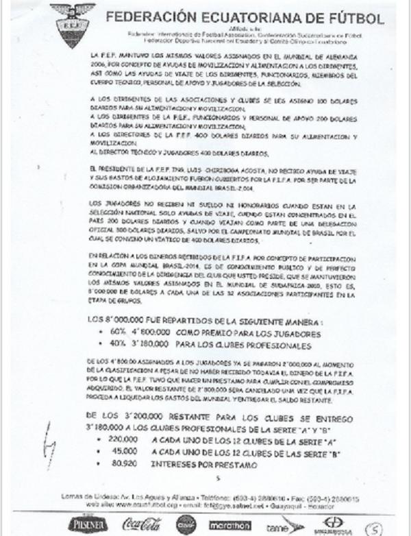 Lista FEF 5
