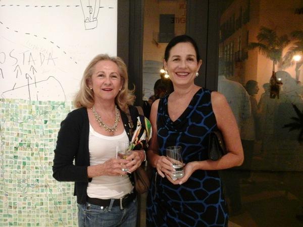 Patricia Avellán y Pilar de Orrantia.
