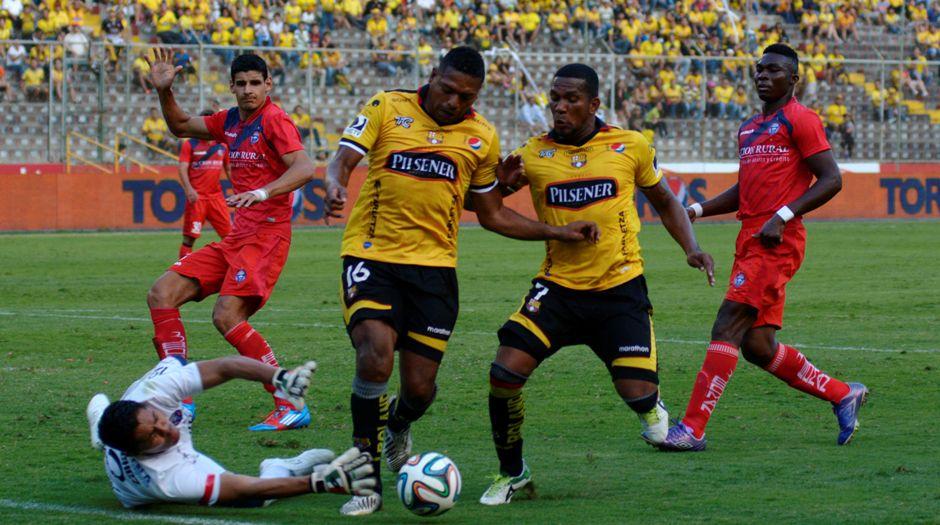 Guayaquil 3 de Agosto del 2014. Barcelona vs Olmedo. Fotos: Marcos Pin / API