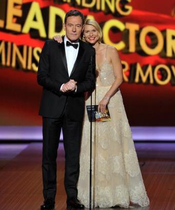 Bryan Cranston y Claire Danes.