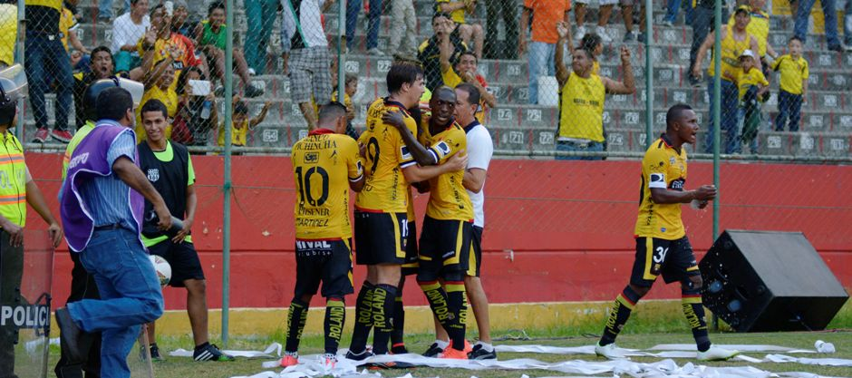 Guayaquil 21 de Agosto del 2014. Barcelona vs Alianza Lima. Fotos: Marcos Pin / API
