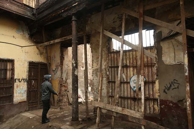 Lima no tiene dinero para restaurar sus viejas casonas - Restaurar paredes viejas ...