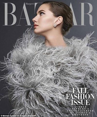 Ferrer en la portada de Harper's Bazzar