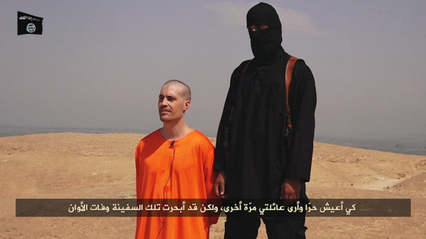 James Foley capturado por los yihadistas