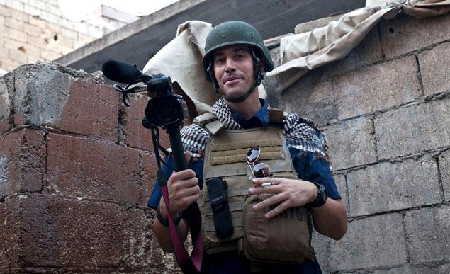 James Foley en Siria.