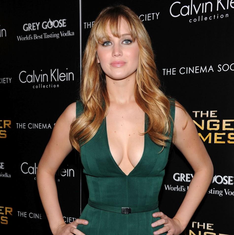 Jennifer Lawrence es considera la celebridad mas sexy del momento.