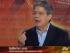 Guillermo Lasso, en Ecuavisa, el 6 de agosto de 2014. Captura de pantalla (Archivo)