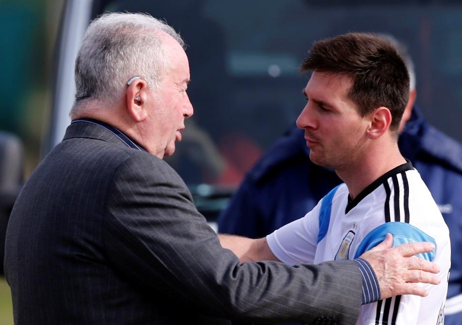 Messi y Grondona