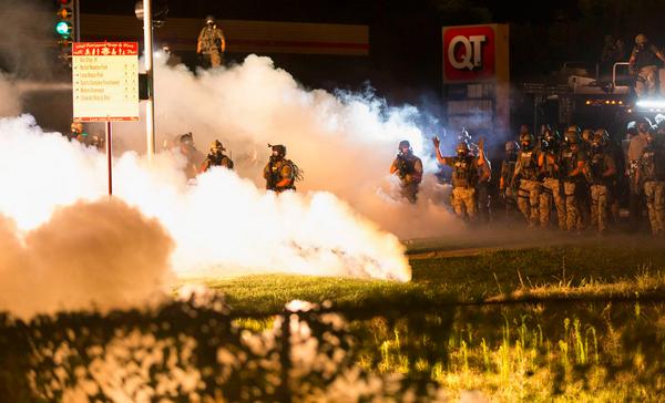 Protestas en Misuri.