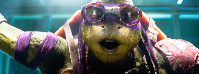 """Donatello de la película """"Las Tortuga Ninja"""" en una fotografía proporcionada por Paramount Pictures."""