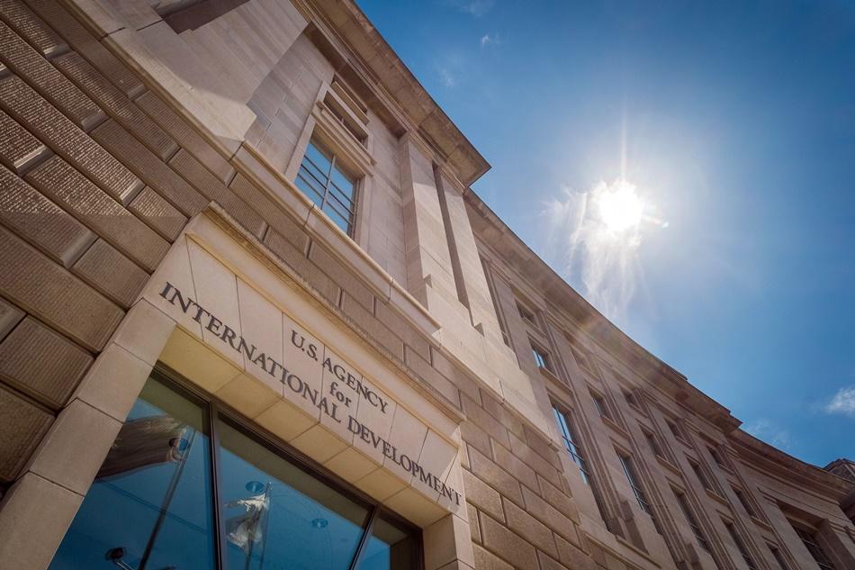 En esta foto del 1 de abril del 2014 se ve la sede de la Agencia de Estados Unidos para el Desarrollo Internacional (USAID) en Washington.  (Foto AP/J. David Aje)
