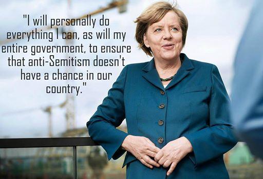 Angela Merkel antisemitismo