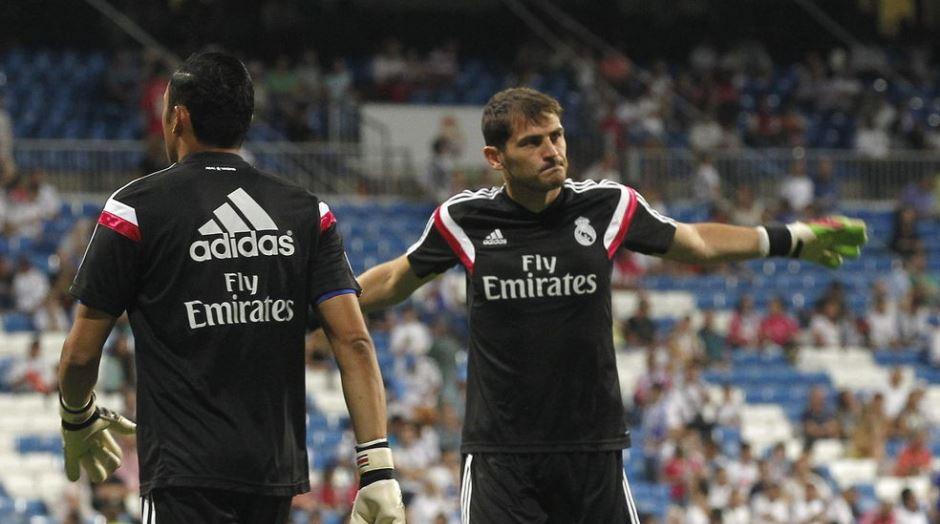 Casillas Navas Real Madrid