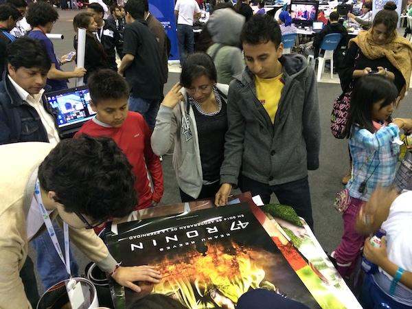 Cinepass fue parte del Campus Party 4 en Quito, logrando llamar una gran atención del público presente.