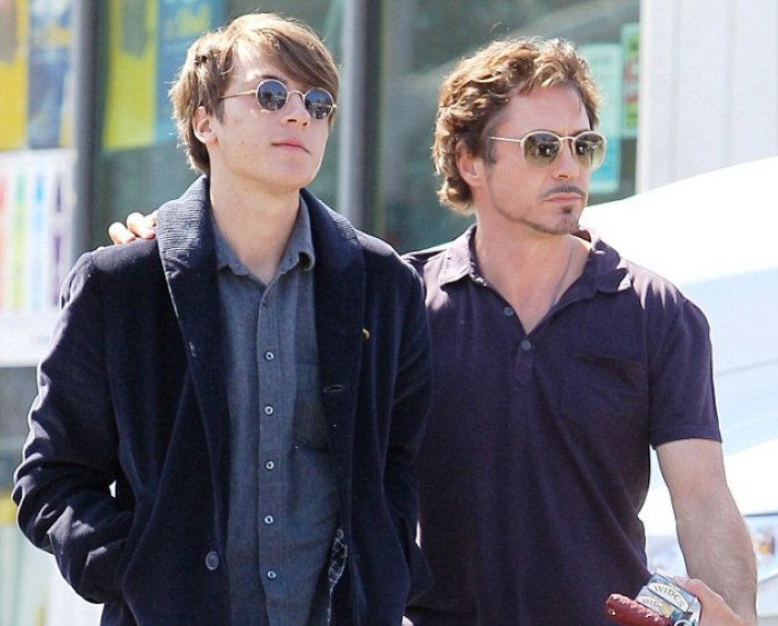 Robert Downey e Indio Downey