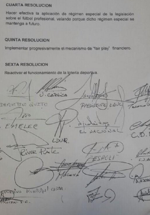 Manifiesto presidentes clubes 2