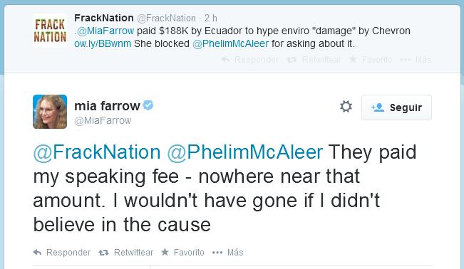 Mia Farrow tuit twitter