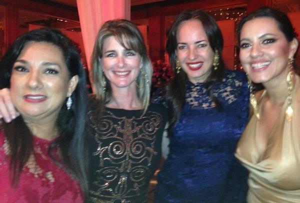 Tania Tinoco, Daniela Creamer, Olga Doumet, Jessica Núñez.