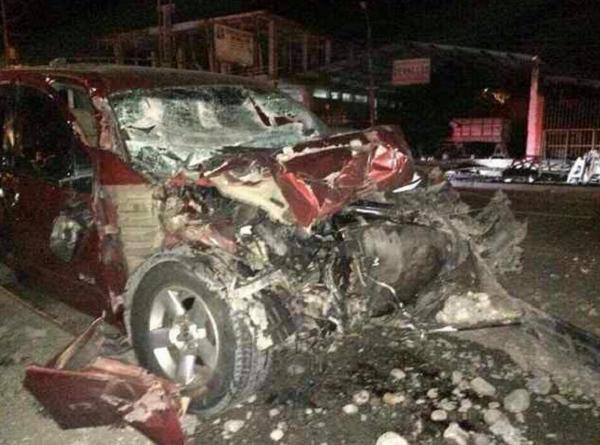 accidente Francisco Rojas