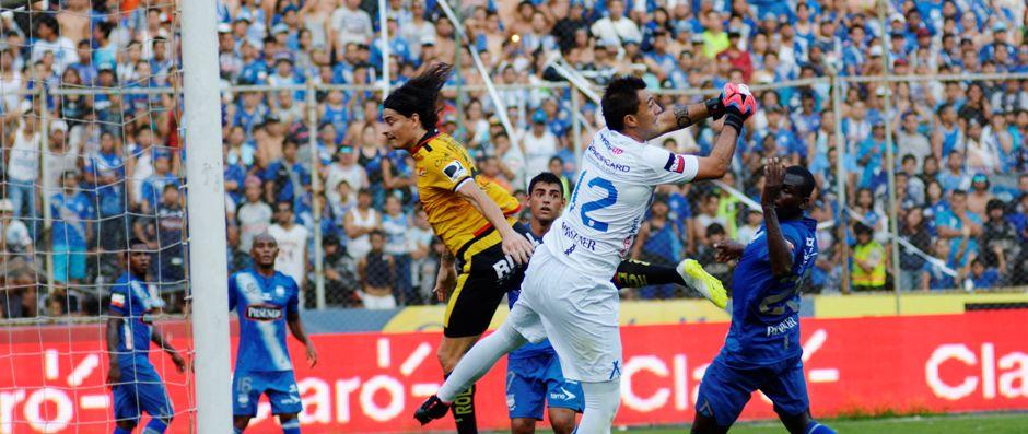 Guayaquil 14 de Septiembre del 2014. Barcelona vs Emelec. Fotos: Marcos Pin / API