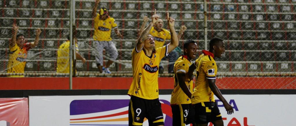 Guayaquil 11 de Septiembre del 2014. Barcelona vs Libertad. Fotos: Marcos Pin / API