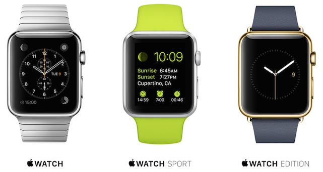 modelos reloj apple