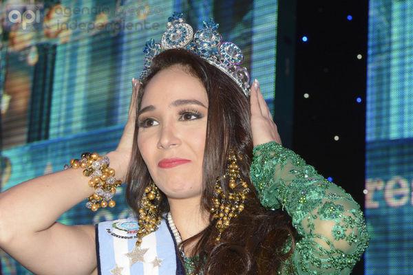 Guayaquil 27 de Septiembre del 20014. Andrea Torres fue elegida Reina de Guayaquil 2014. Foto: Marcos Pin / API