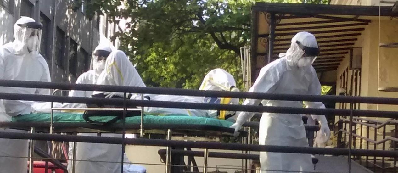 ébola brasil sospechosos